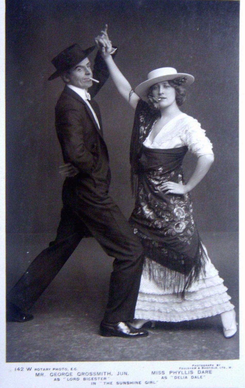 Library Of Dance Early Tango Argentine Steps Diagram Figures The As Demonstrated By George Grossmith London 1912