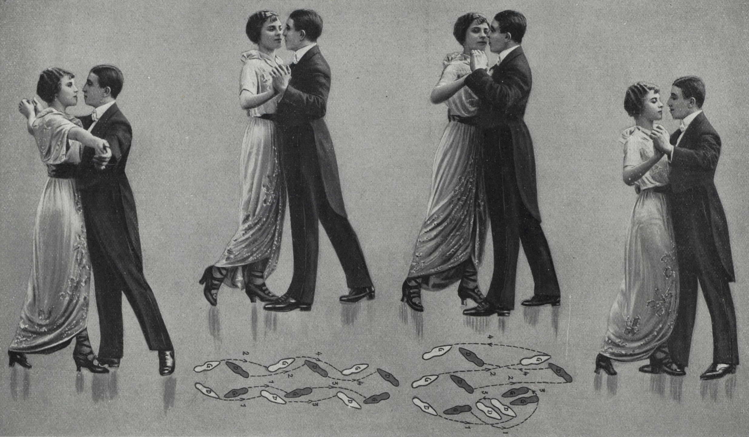 Library Of Dance Early Tango Argentine Steps Diagram Look At This Back The Follow Four Starting Leads Right 1 2 3 4 Then Step Forward 6 Replace 7 8