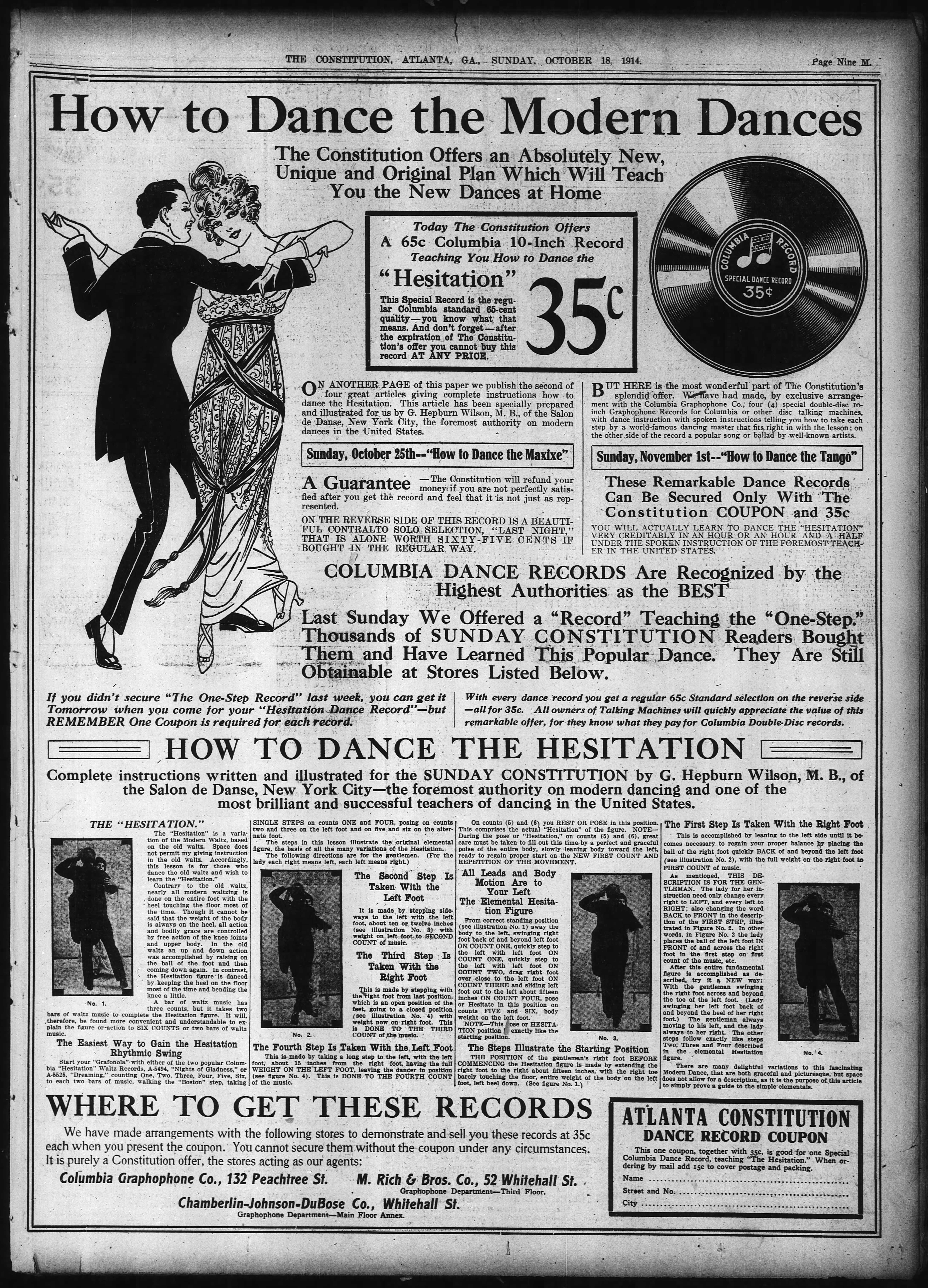 The library of dance vintage dance manuals fandeluxe Images